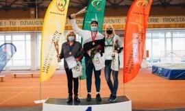 Lietuvos studentų uždarų patalpų lengvosios atletikos čempionate nugalėjo LSU komanda