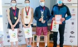 Vilniaus universiteto komanda nugalėjo teniso čempionate