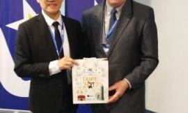Taipėjaus universiados organizacinio komiteto pirmininkas Shin-Ming You
