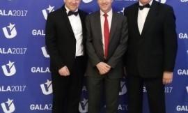 EUSA prezidentas bei Europos komisijos sporto vadovas Ives Le - Lostecque