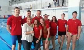 Lietuvos universitetų studentų plaukimo čempionato komanda nugalėtoja - LSU