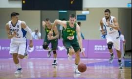 Lietuvos krepšininkai Universiadą pradėjo pergale (video)