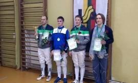 Lietuvos universitetų studentų fechtavimosi čempionate nugalėjo VU komanda