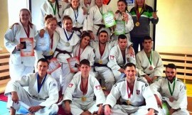 Lietuvos universitetų studentų dziudo čempionate nugalėjo LSU komanda