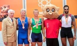 Auksinė diena EUSA žaidynėse Lietuvos delegacijai - iškovoti dveji aukso medaliai