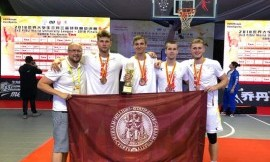 Vytauto Didžiojo universiteto krepšininkai iškovojo bronzos medalius
