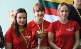 Vilniaus universitetas - nenugalimas studentų kulkinio šaudymo čempionate