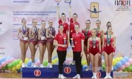 Lietuvos studentų aerobinės gimnastikos čempionate nugalėjo LSU komanda