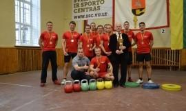 2016 m. Lietuvos studentų svarsčio kilnojimo čempionato nugalėtojai  - Vilniaus universiteto komanda