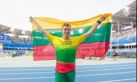 Edis Matusevčius pagaliau pripažintas 30 - ųjų Pasaulio vasaros Universiados ieties rungties čempionu