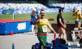 Ieva Zarankaitė - uteniškė, svajojanti apie olimpines žaidynes