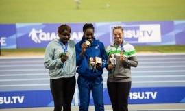 Disko metikė Ieva Zarankaitė iškovojo bronzos medalį