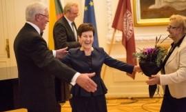 Nuoširdžiausi sveikinimai Irenai Plioplienei