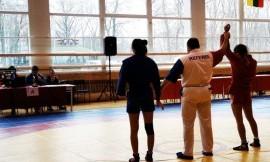 LSU ir VU komandos nugalėjo Lietuvos universitetų sambo čempionate