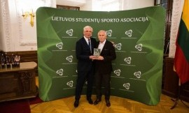 Sveikinimai LSFL direktoriui Vytautui Jančiauskui