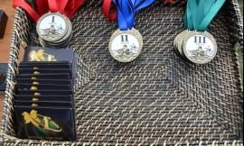 Klaipėdos universiteto sportininkai iš Kupiškio parsivežė nugalėtojų taurę