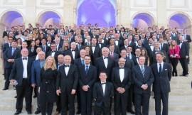 EUSA iškilmių dalyviai