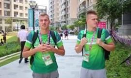 Danas Rapšys ir Andrius Šidlauskas – Universiados finale