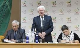 LSSA prezidentas  Česlovas Garbaliauskas perrinktas dar vienai 2016 - 2020 m. m. kadencijai