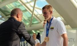 Povilas Strazdas Rijekoje pasidabino sidabro medaliu, Gyčiui Stankevičiui du bronzos apdovanojimai