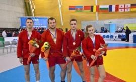 Iš FISU sambo čempionato su bronzos medaliais