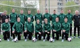 Lietuvos studentų futbolo rinktinė išvyko į tarptautinį turnyrą Ukrainoje