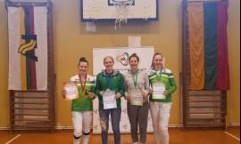 Lietuvos universitetų studentų fechtavimosi čempionate nugalėjo LSU komanda