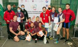 Lietuvos studentų jėgos trikovės čempionate nugalėjo Vilniaus universiteto komanda