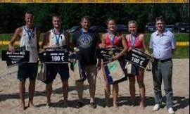 Pasaulio universitetų paplūdimio tinklinio čempionate Vilniaus universiteto tinklininkai