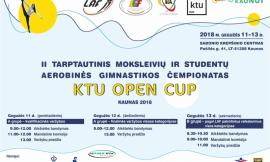 Lietuvos universitetų studentų aerobinės gimnastikos čempionate nugalėjo LSMU komanda