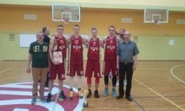 LSKL 3×3 salės čempionate triumfavo VDU vaikinai ir LSU merginos