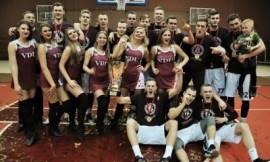 VDU vaikinų krepšinio komanda - LSKL čempionė