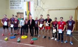 VU nenugalimi Lietuvos studentų svarsčių kilnojimo čempionate