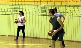 Tinklinis su krepšinio kamuoliu