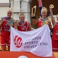 2016 m. Europos universitetų žaidynės: merginų 3x3 krepšininis