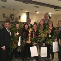 LSU krepšininkės FISU trijulių čempionės