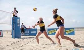 Pasaulio universitetų paplūdimio tinklinio čempionate VU vaikinai TOP - 4