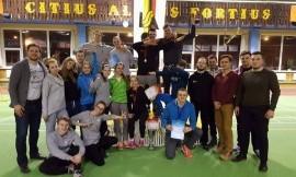 2017 m. Lietuvos studentų žiemos lengvosios atletikos čempionė LSU komanda
