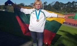 Pasaulio meistrų žaidynėse Genovaitė Avižonienė pasipuošė bronziniu medaliu