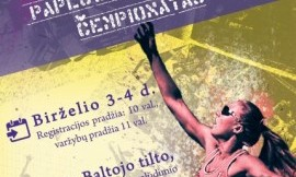 Birželio 3 - 4 d. Vilniuje karaliaus studentų paplūdimio tinklinis