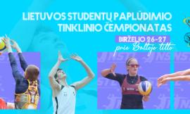 Lietuvos studentų paplūdimio tinklinio čempionatas birželio 26 - 27 d.