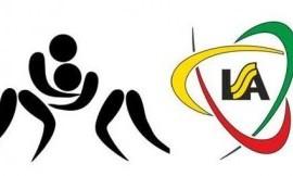 Lietuvos universitetų studentų graikų-romėnų imtynių čempionato nugalėtoja - Aleksandro Stulginskio universiteto komanda