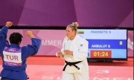Dziudo atstovė Santa Pakenytė – Universiados finale (sportininkės komentaras)