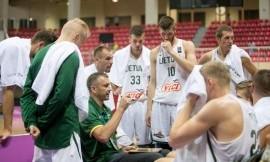 Lietuvos krepšininkai grupės varžybose pirmi – 41 taško skirtumu įveikė rusus