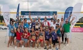 NSTL užbaigė sezoną paplūdimio tinklinio čempionatu