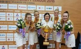LSU krepšininkės FISU pasaulio universitetų trijulių (3×3) merginų krepšinio čempionės