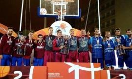 VDU vaikinų krepšinio komanda tapo Europos universitetų 3×3 čempionais