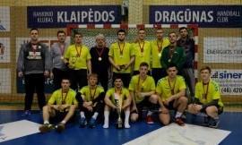 Lietuvos universitetų studentų rankinio čempionai - LSU komanda
