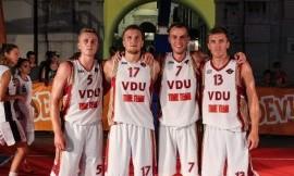 Vytauto Didžiojo universiteto krepšininkai nusitaikė į dar vienus medalius