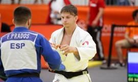 EUSA žaidynėse dziudo imtynininkas Adrej Klokov buvo per plauką nuo medalio